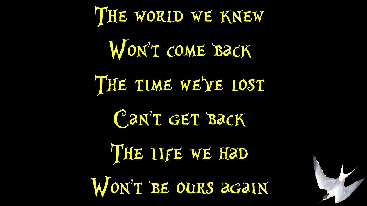 Never Too Late (Three Days Grace song) - Wikipedia