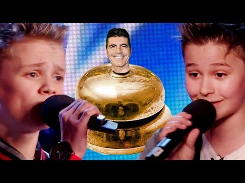 Simon Cowell Hits GOLDEN BUZZER for Bars & Melody! New UK Sensations?