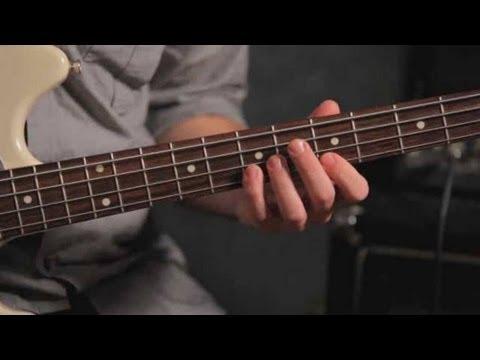 Bass Scales: Pentatonic Scale Exercises