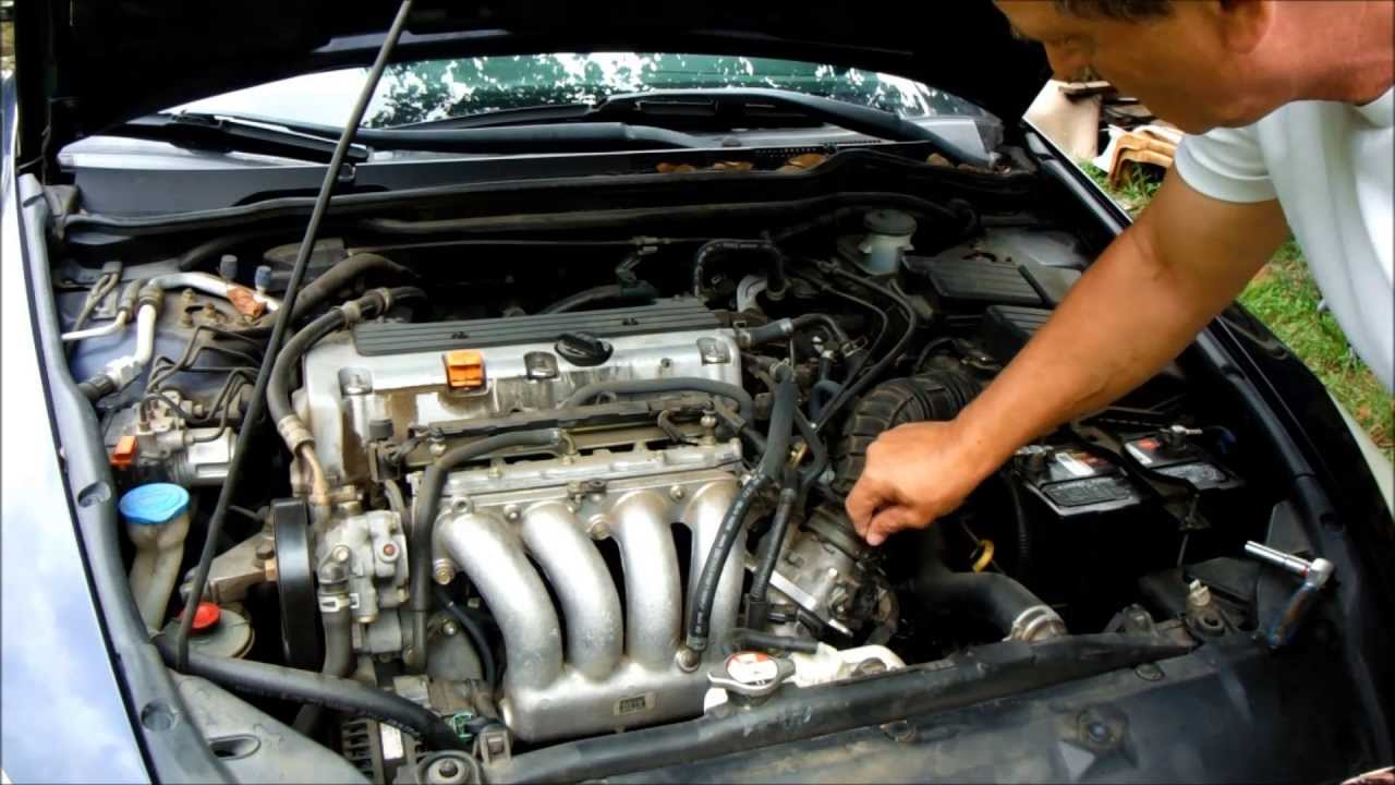 Honda Accord Starter replacement, tips and tricks - YouTube
