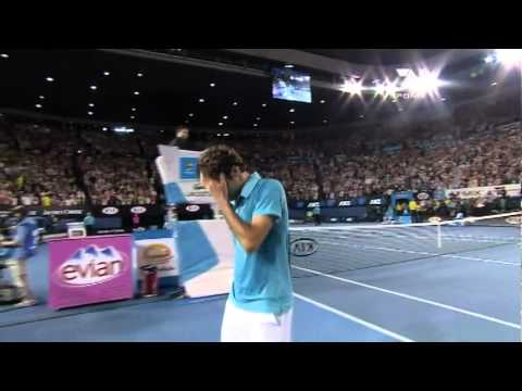 Roger Federer Championship Point Australian Open 2010-HD
