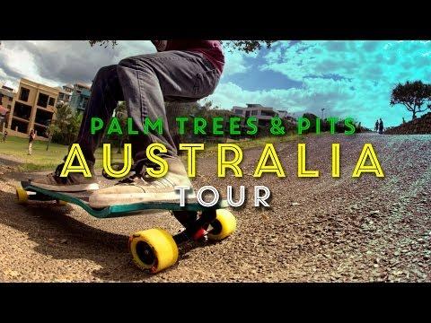 Landyachtz Australia 2013 - Palm Trees & Pits Tour