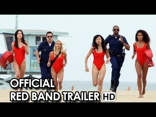 Let's Be Cops Official Red Band Trailer #1 (2014) HD