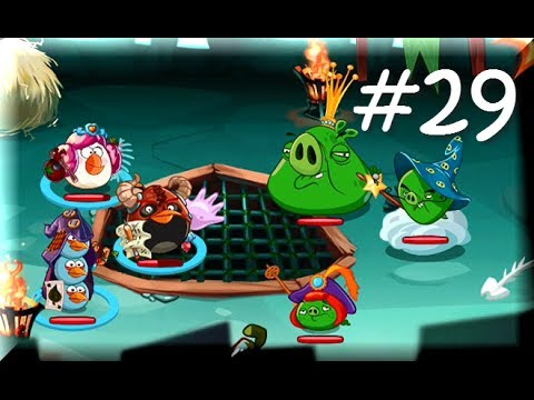 Angry Birds Epic - KING PIG'S CASTLE FINAL KING BOSS - Angry Birds Part 29