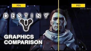 Destiny для PS4 и PS3 - сравнение графики