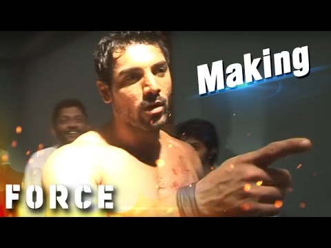John Abraham Shirtless Behind The Scenes Of 'FORCE'