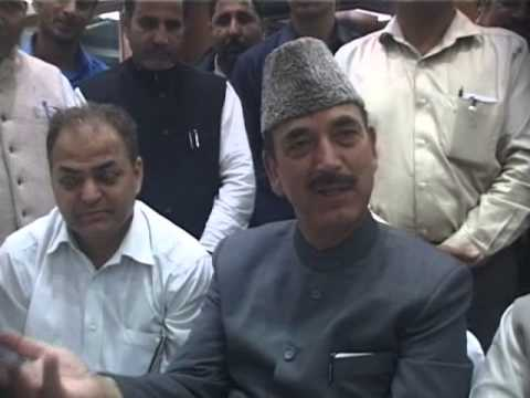 FACE TO FACE GULAM NABI AZAD WITH ARUN TRISAL