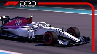 F1 2018 - Charles Leclerc Monaco Játékmenet