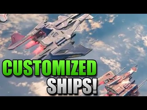 Destiny - Customized Ships & Map of Earth! (Destiny News)
