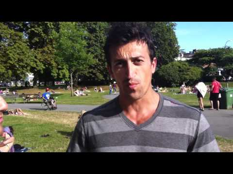 Wbff Artus Shakur & Sean Steward At Kits Beach - Wbff Worlds ChampionShip 2011
