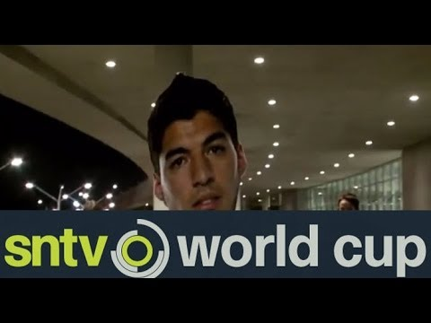 Suarez arrives back in Uruguay to hero's welcome - Brazil World Cup 2014