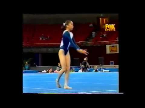 Elizabeth Wong 2000 Australian Nationals Floor