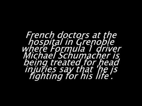 Michael Schumacher fighting for his life