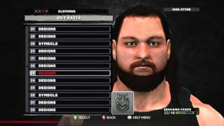 How To Make Bray Wyatt In WWE 13 (Video Game) TEXTURED For