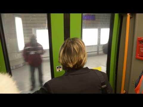 Leipziger City-Tunnel im Probebetrieb