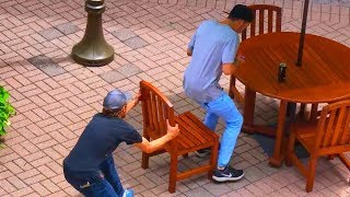 "Ultimate ""Chair Pulling"" Pranks Compilation - Funniest Public Pranks 2017"
