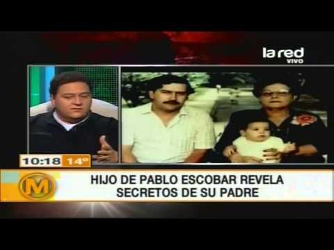 El negocio del hijo de Pablo Escobar