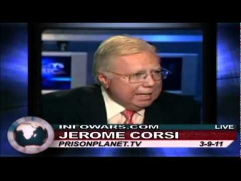 Alex Jones talks with Jerome Corsi 03/09/2011