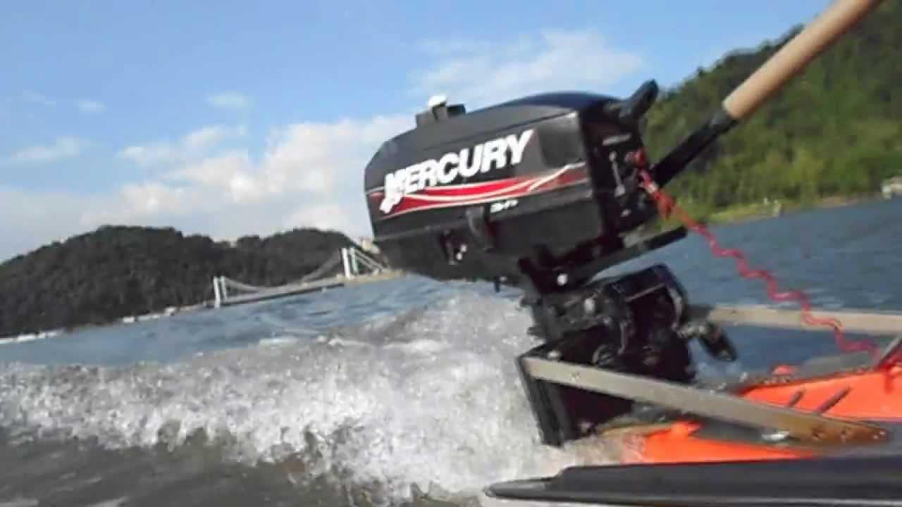 Caiaque Motorizado Em S O Vicente Motorized Outboard