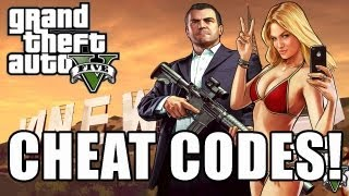 GTA 5 Cheat Code Full List PS3 And Xbox 360 (GTA V