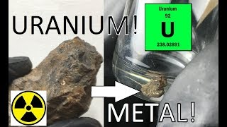 Metal Refining & Recovery, S2E3: Uranium Metal From Ore
