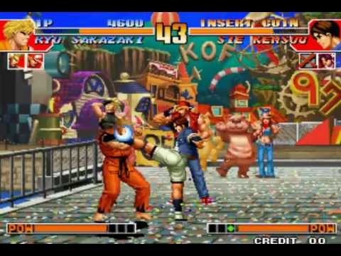 gameplay do noob (The king of fighters 97)
