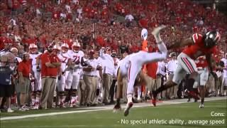 2014 NFL Draft WR Rankings With Highlights [HD]