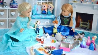 American Girl Doll Disney Frozen Elsa And Anna's Playroom