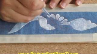 Pintar Manteles 1 Pintura Facil Para Ti.wmv