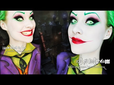 The Joker (Jack Nicholson Version) Makeup/Body Paint Tutorial