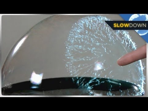 Thumbnail of video Bubbles Bursting in SLOW MOTION