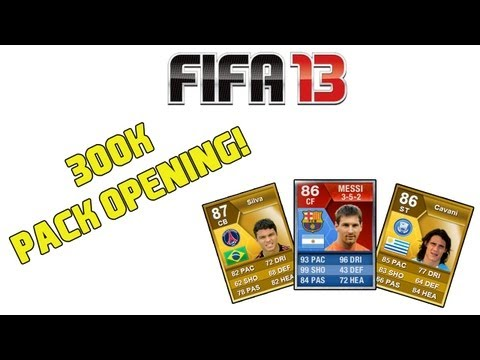 FIFA 13 - 300K Pack Opening!