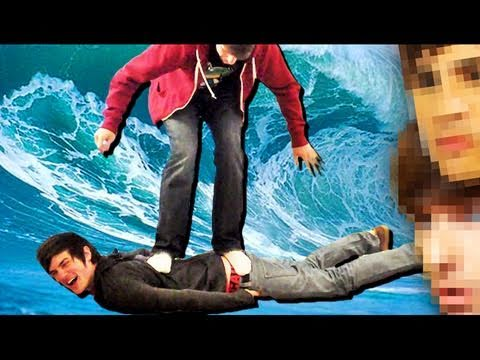 SURFING ON PEOPLE!