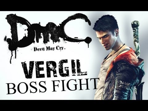 DMC Devil May Cry 5: Final Mission - Vergil Boss Fight (HD)