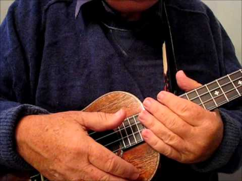 """AURA LEA"" An American Civil War song for Ukulele - Taught by ""UKULELE MIKE"""