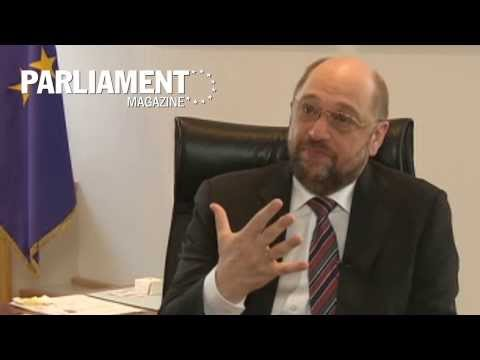 Full interview: Martin Schulz on the 2014 EU elections