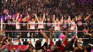 WWE and Susan G. Komen continue the fight against breast cancer: Raw, Oct. 5, 2015
