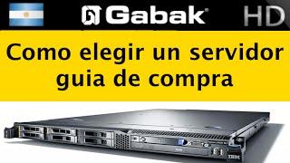 Recomendaciones para comprar un servidor