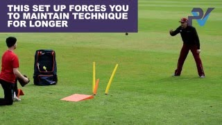 Cricket Catching Drill Progression Using A Katchet