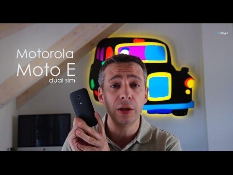 Motorola Moto E dual sim la recensione di HDblog