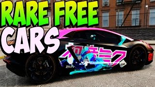 GTA 5 Online RARE CARS FREE Location After Patch 1.17
