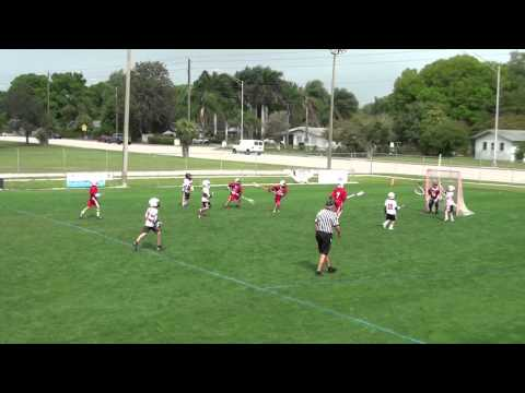 U11 Lacrosse Tiger Sharks 03/29/14 Highlights