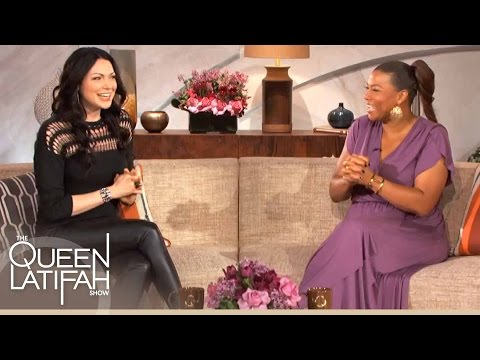 Laura Prepon Chats About OITNB, Her Eccentric Family and More on The Queen Latifah Show