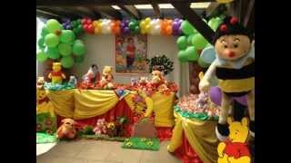 Winnie Pooh Themed Party Ideas By Carmen Party For Kids