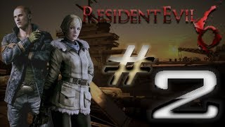 Resident Evil 6 Detonado (Walkthrough) Jake Parte 2 HD