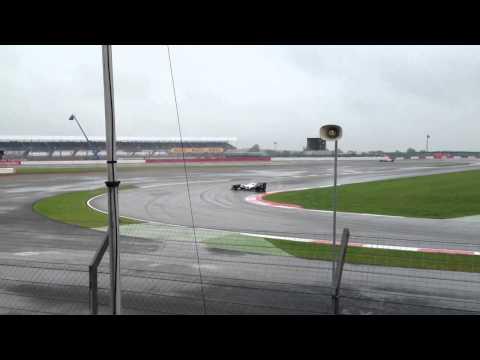 Silverstone 2012 - Kobayashi spins
