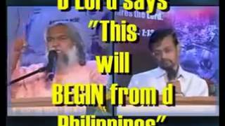 Philippine Prophecy / Predictions/ Prophet Sadhu