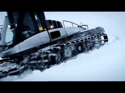 Come si preparano le piste da sci...La preparazione piste di Prinoth