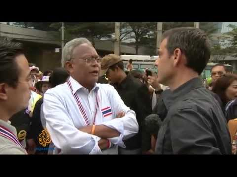 กำนันสุเทพ Thailand Protesters vow larger rallies after poll