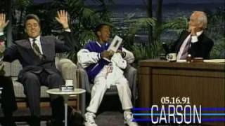 Johnny Carson: Jay Leno and Steve Urkel (Jaleel White), 1991